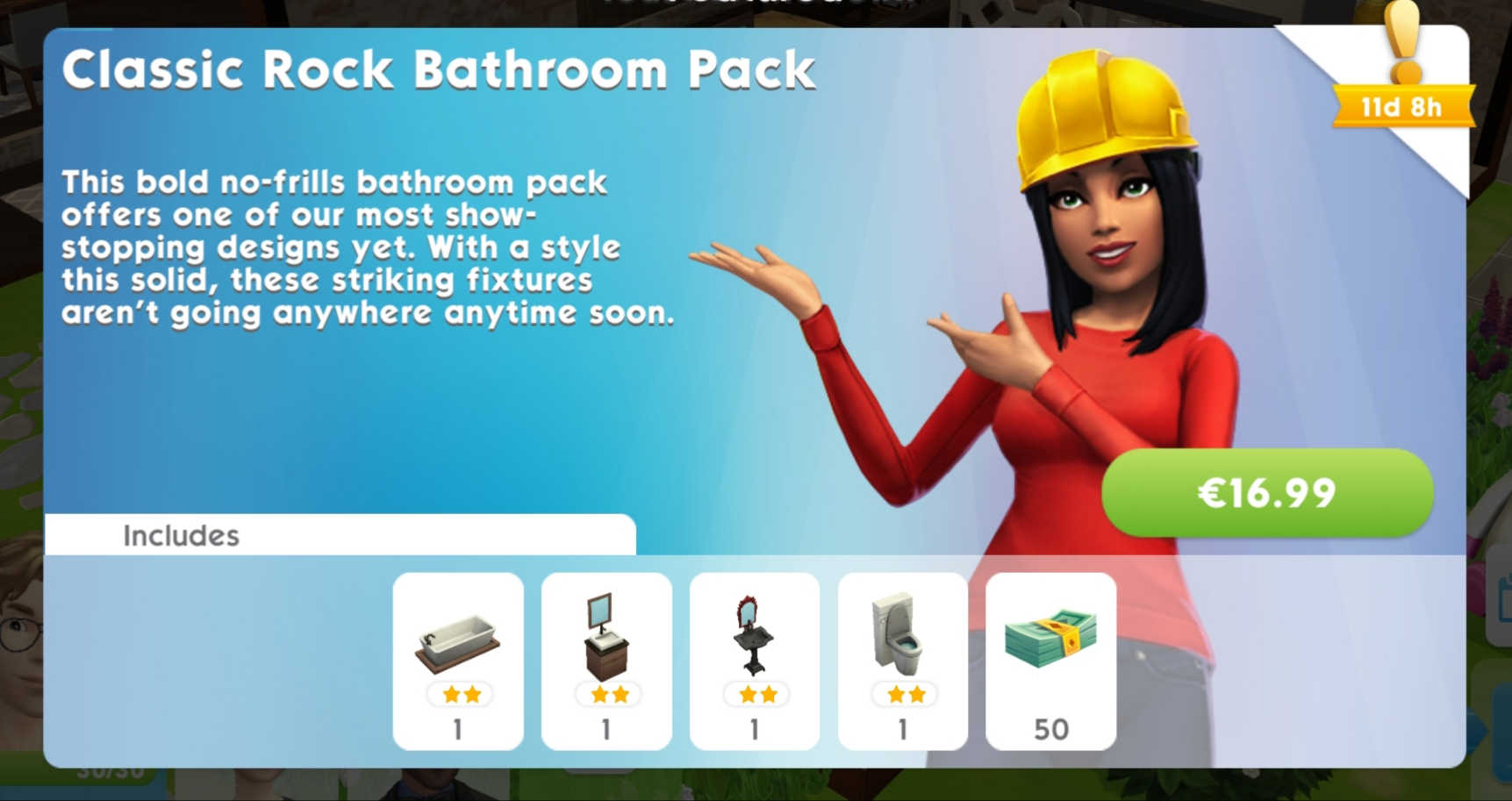 Classic Rock Bathroom Pack