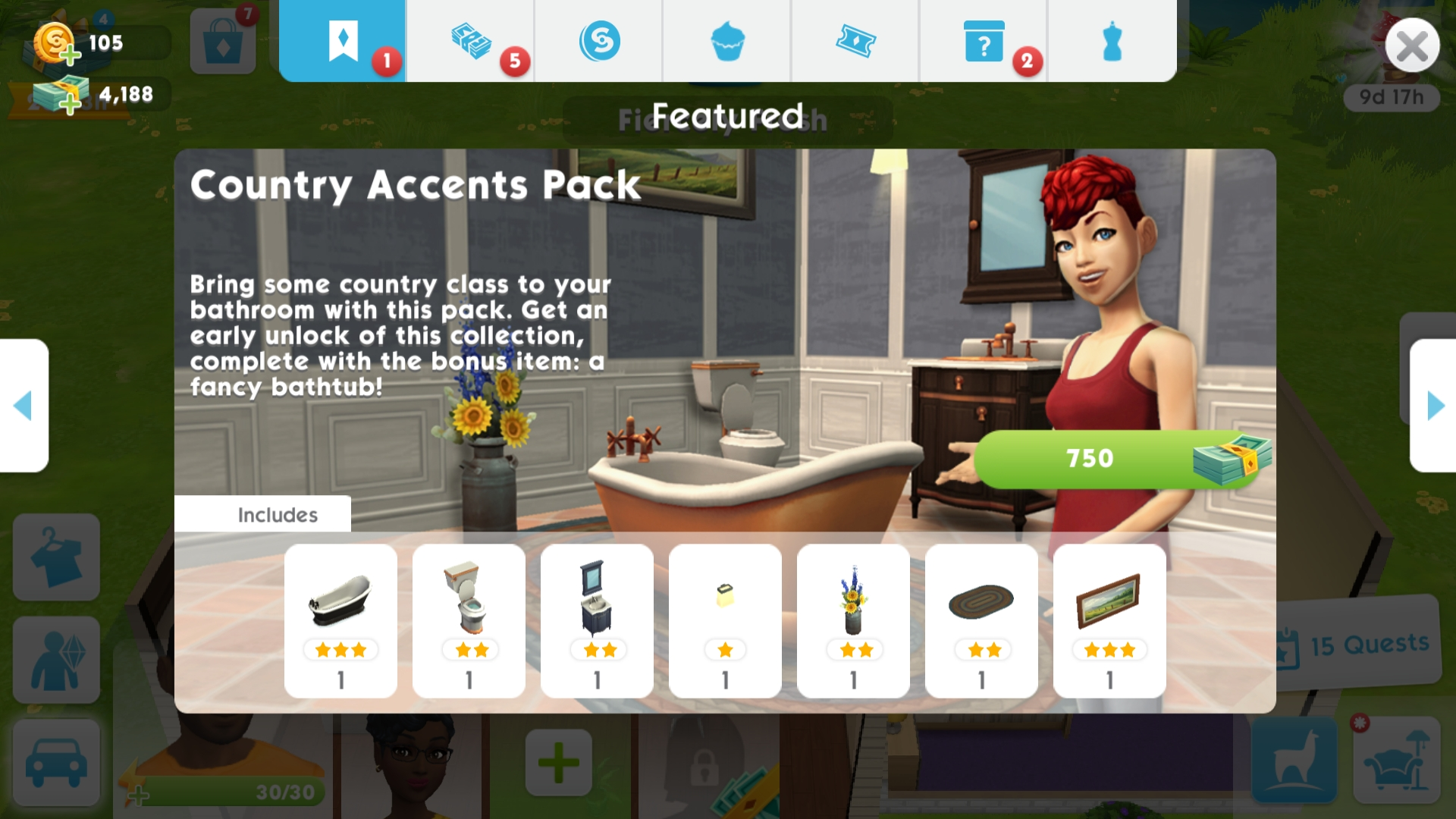 Country Accents Pack