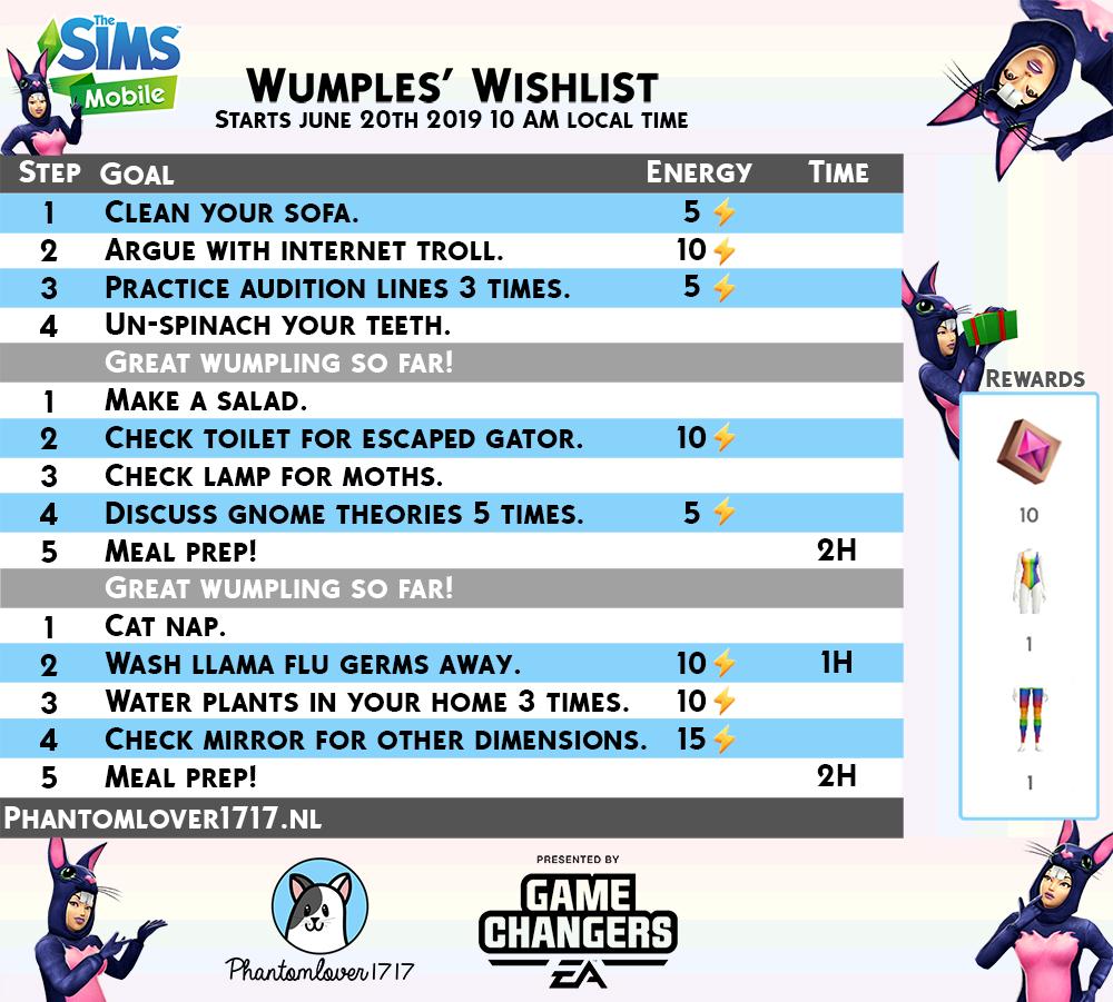 Wumples Wishlist 2 - Pride