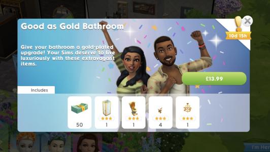Good Ad Gold Bathroom