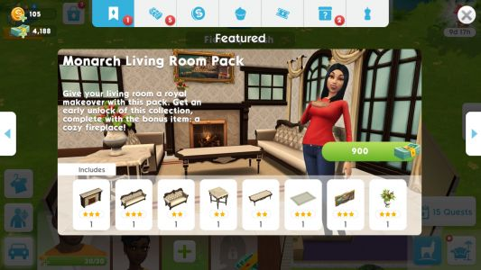 Monarch Living Room Pack